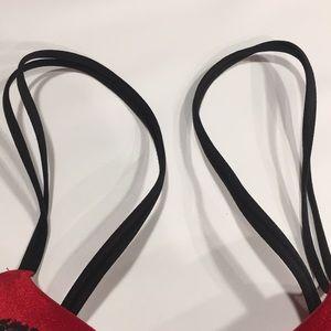 Victoria's Secret Intimates & Sleepwear - 34B VS PLUNGE thick padding very sexy red bra